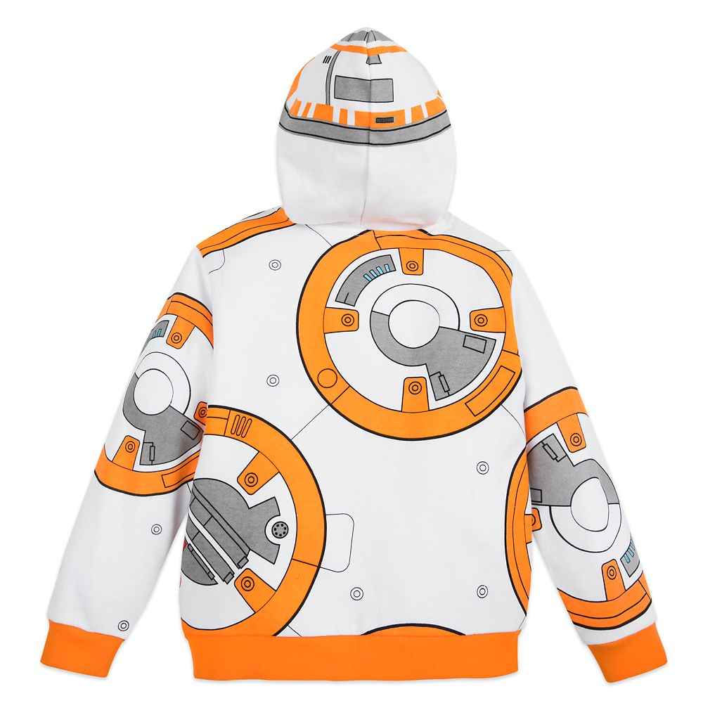 BB-8 and D-O Zip-Up Hoodie for Kids – Star Wars: The Rise of Skywalker
