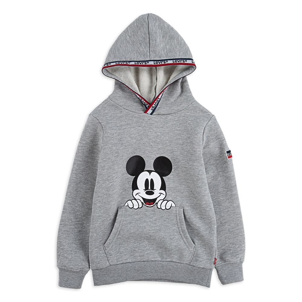 Mickey Mouse Pullover Hoodie for Boys by Levi's