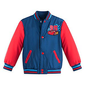 Cars Varsity Jacket for Boys - Personalizable