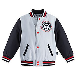 Stormtrooper Varsity Jacket for Boys - Star Wars - Personalizable