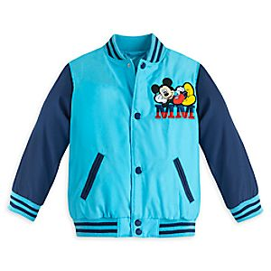 Mickey Mouse Varsity Jacket for Boys - Personalizable