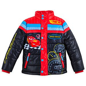 Lightning McQueen Winter Jacket for Boys
