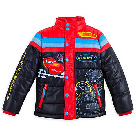 Lightning McQueen Winter Jacket for Boys