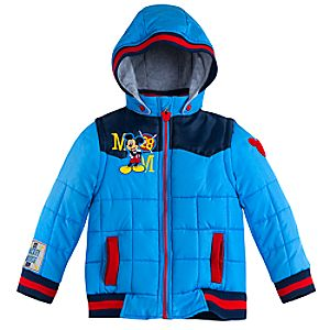 Mickey Mouse Winter Jacket for Kids - Personalizable