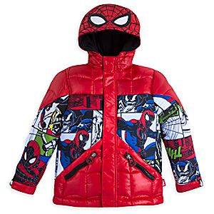 Spider-Man Winter Jacket for Kids - Personalizable