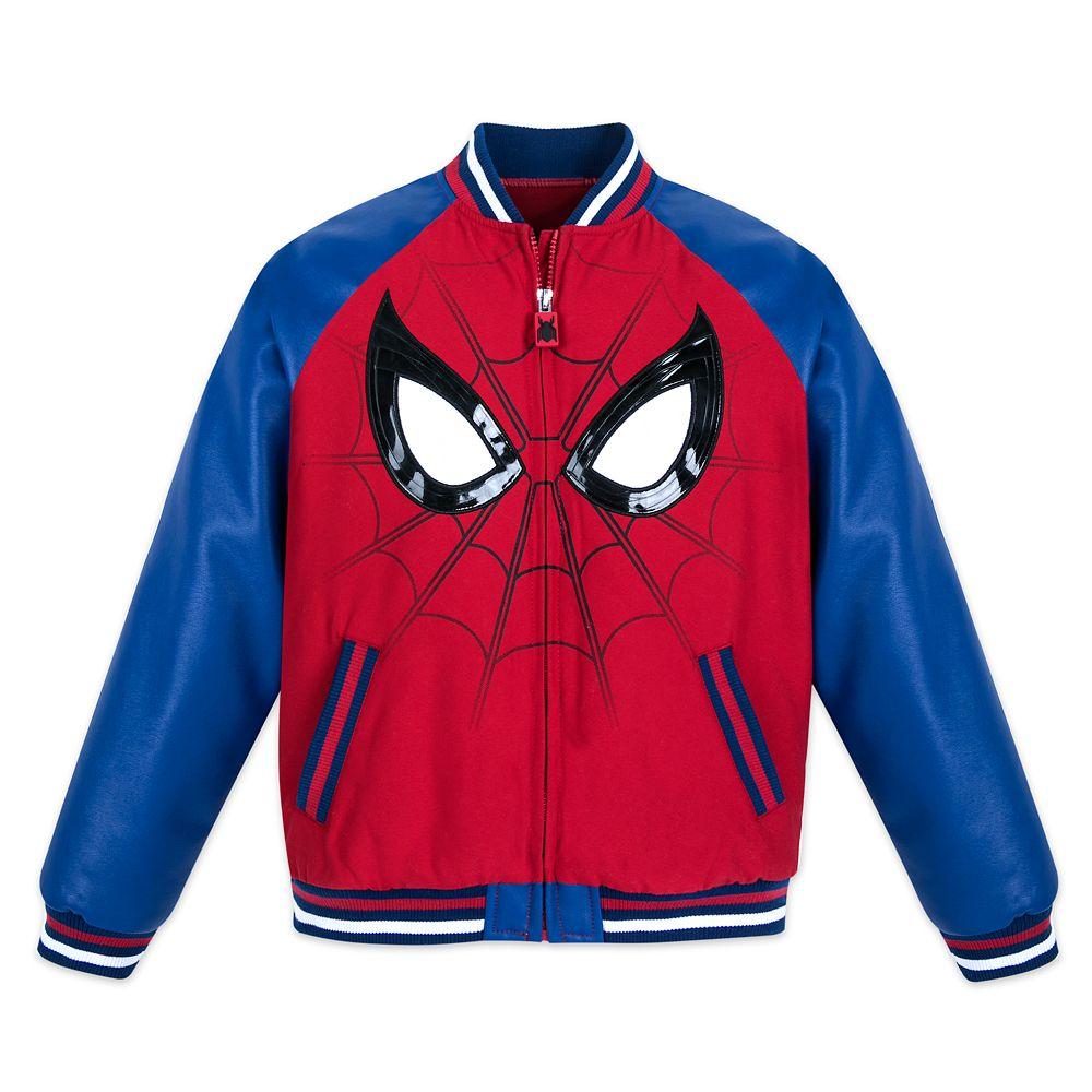 Spider-Man Varsity Jacket for Boys