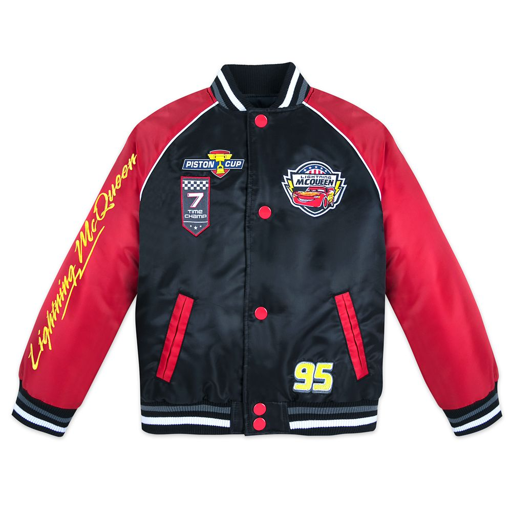 Cars Varsity Jacket for Boys