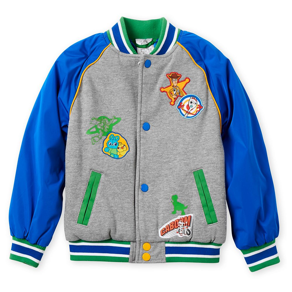 Toy Story 4 Varsity Jacket for Boys – Personalized