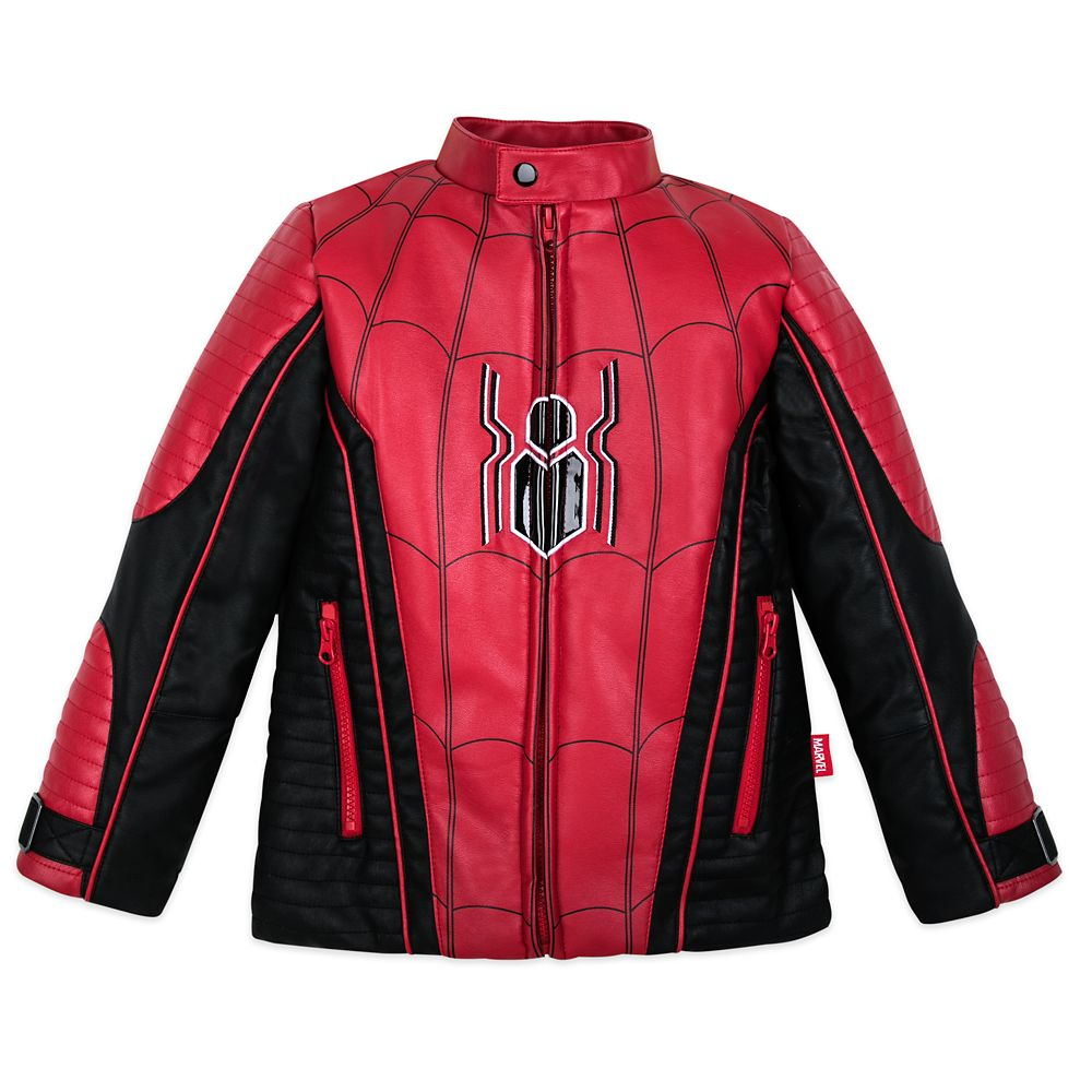 Spider-Man Motocross Jacket for Boys