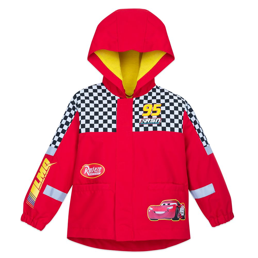 Disney Lightning McQueen Rain Jacket for Boys