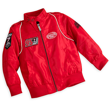 Lightning McQueen Members Only Jacket for Boys - Red
