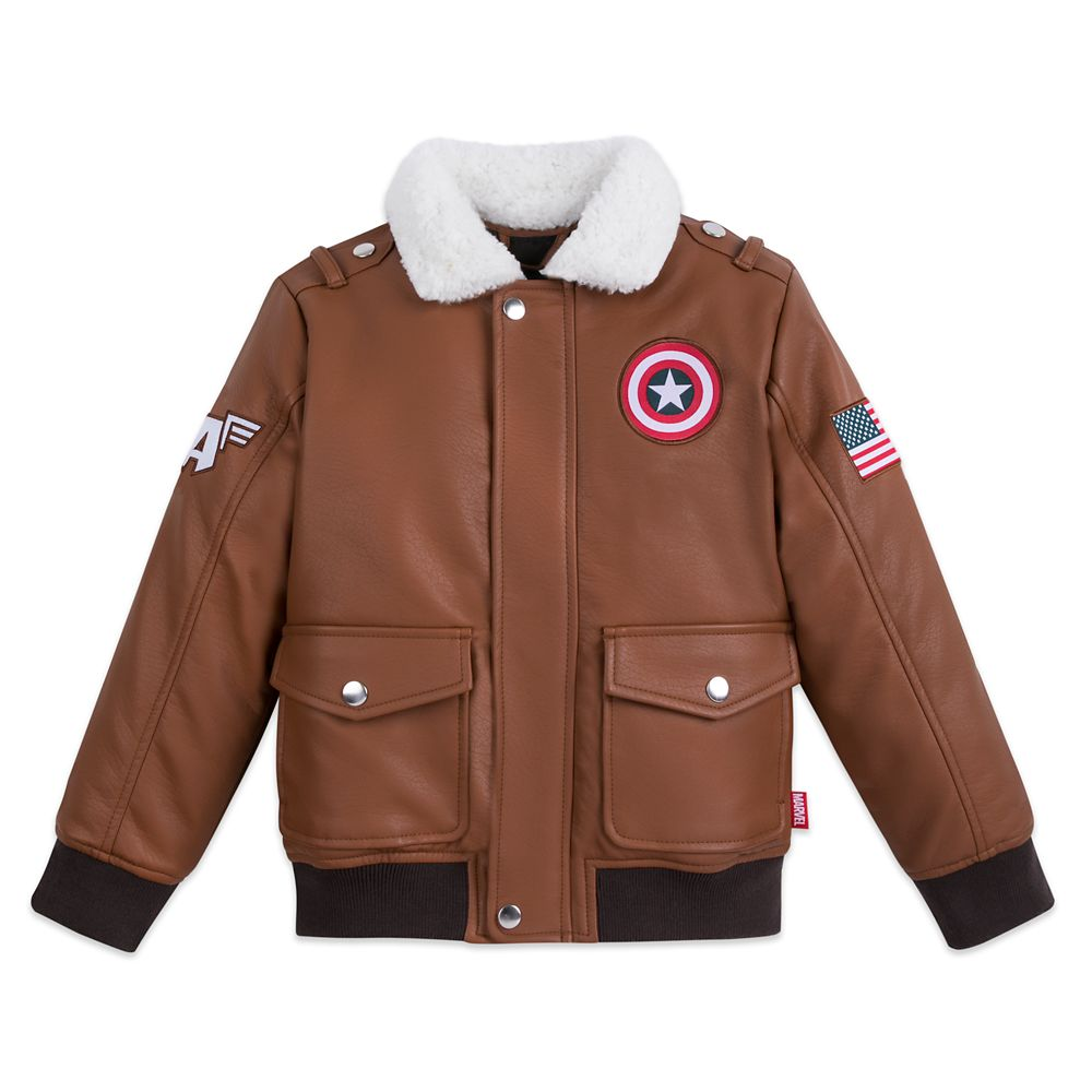 Captain America Flying Jacket for Boys