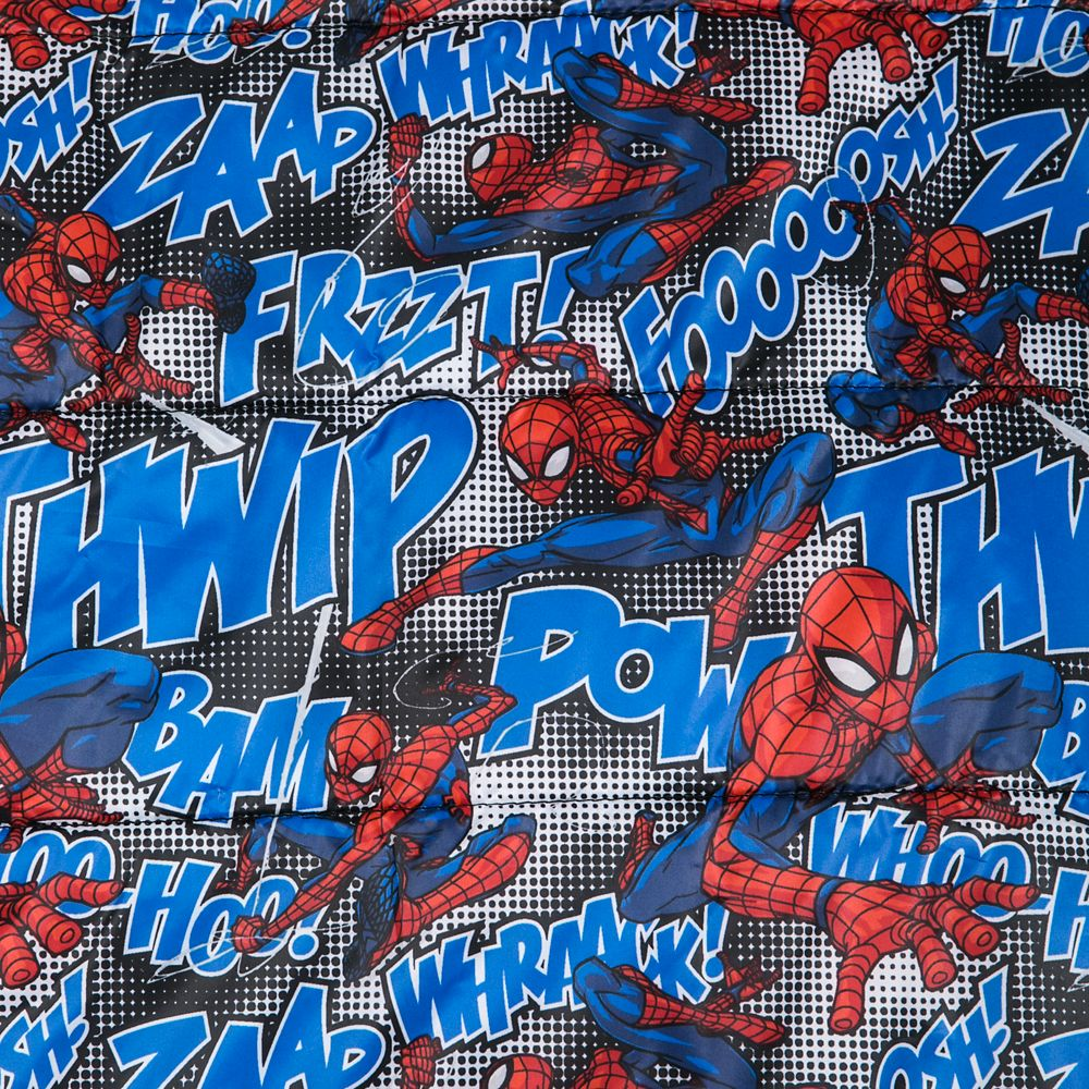 Spider-Man Lightweight Puffy Jacket for Kids – Personalized