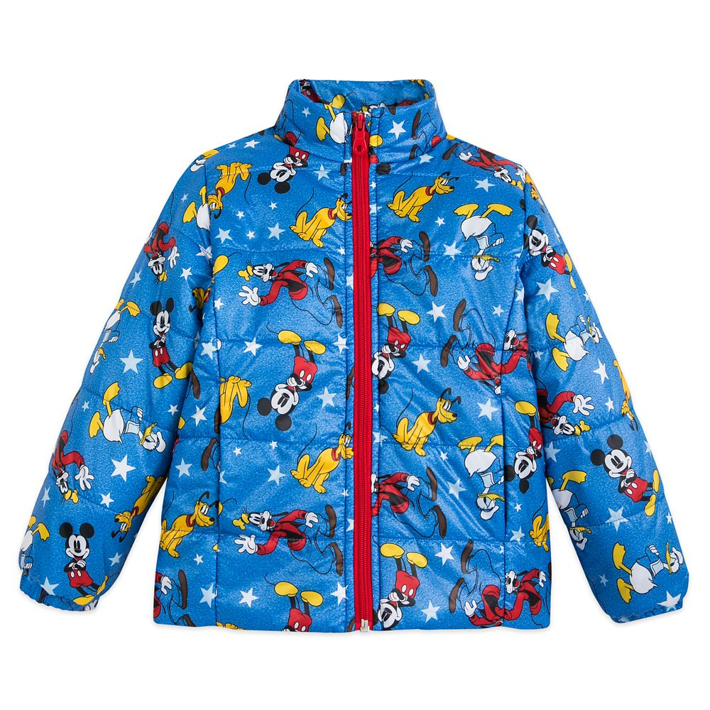 Mickey Mouse and Friends Lightweight Puffy Jacket for Kids – Personalized