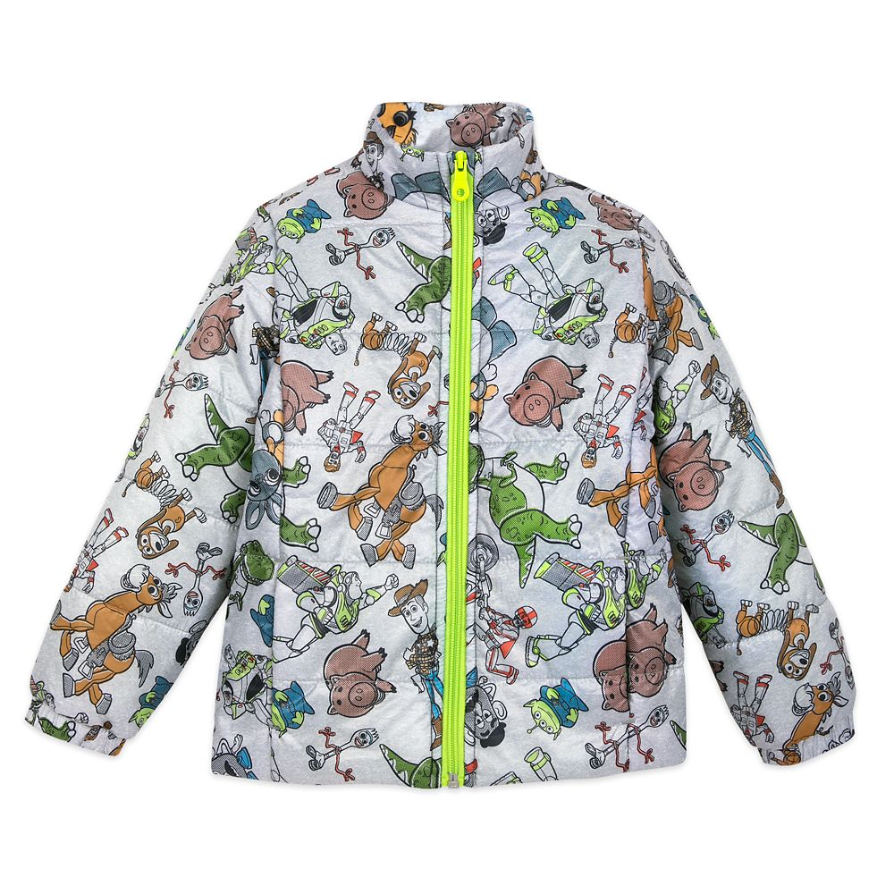 Toy Story 4 Lightweight Puffy Jacket for Kids – Personalized