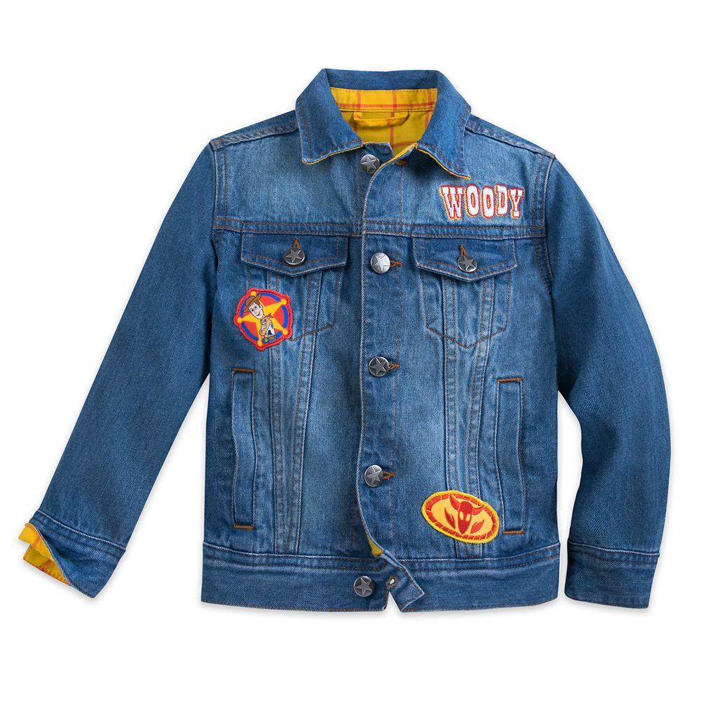 Sheriff Woody Denim Jacket for Boys Official shopDisney