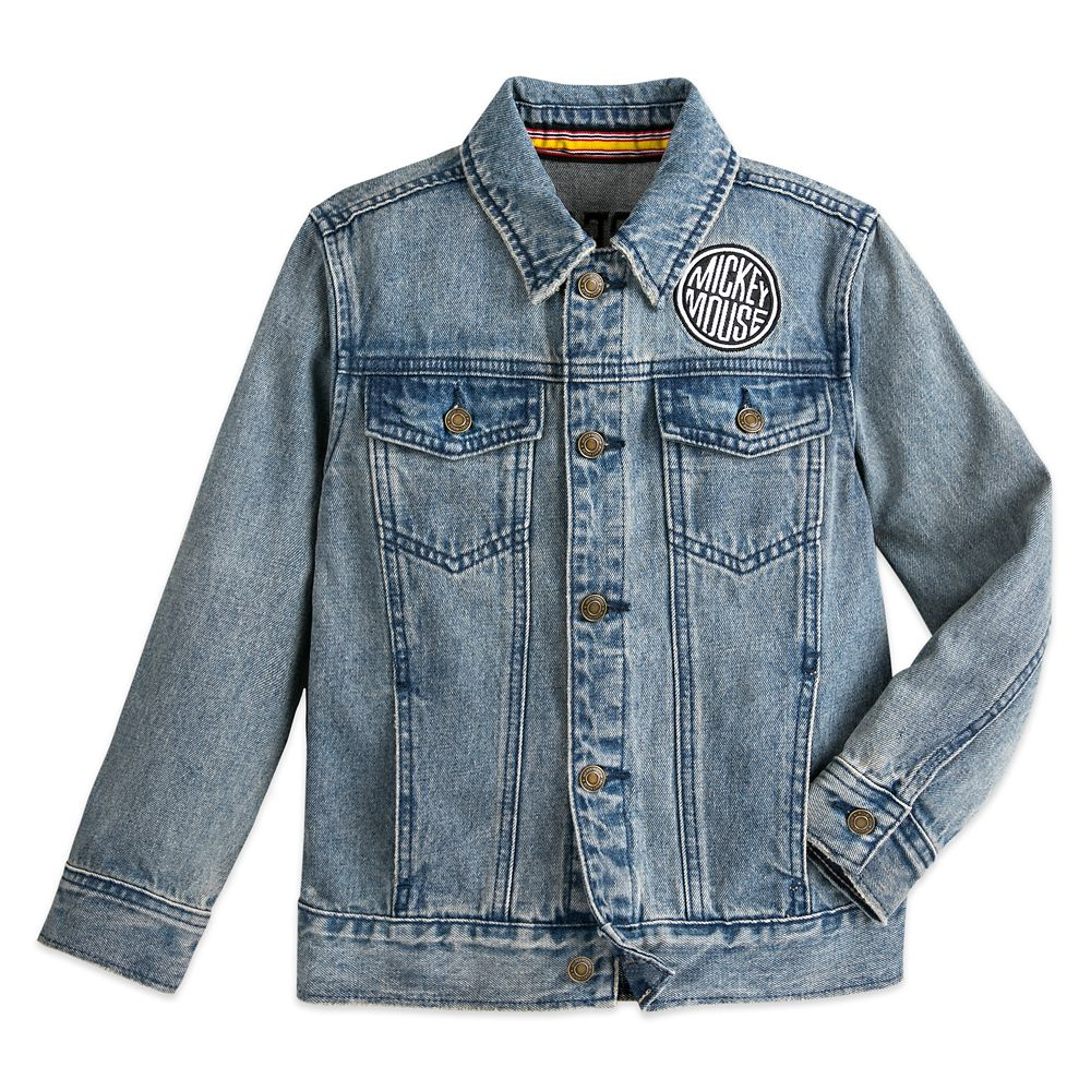 Mickey Mouse Denim Jacket for Kids