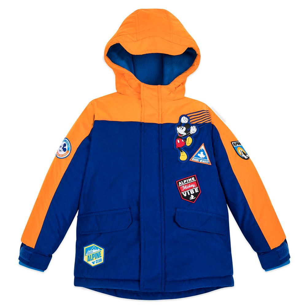 Mickey Mouse Winter Jacket for Boys – Personalized