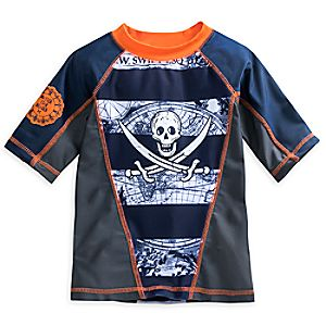 Pirates of the Caribbean: Dead Men Tell No Tales Rash Guard for Boys