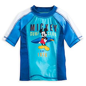 Mickey Mouse Clubhouse Rash Guard for Boys