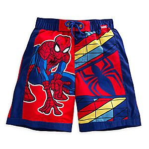 Spider-Man Swim Trunks for Boys 5806046950346M