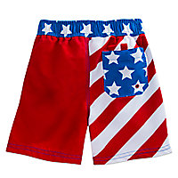 Captain America Swim Trunks for Boys