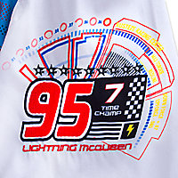 Lightning McQueen Swim Trunks for Boys