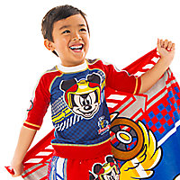 Mickey Mouse Rash Guard for Boys - Mickey and the Roadster Racers