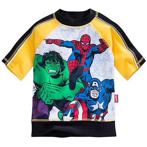 Marvel's Avengers Rash Guard for Boys