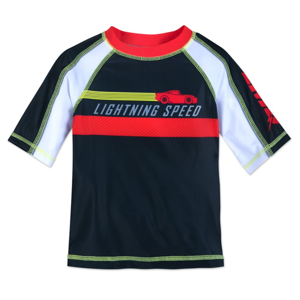Lightning McQueen Rash Guard for Boys Official shopDisney
