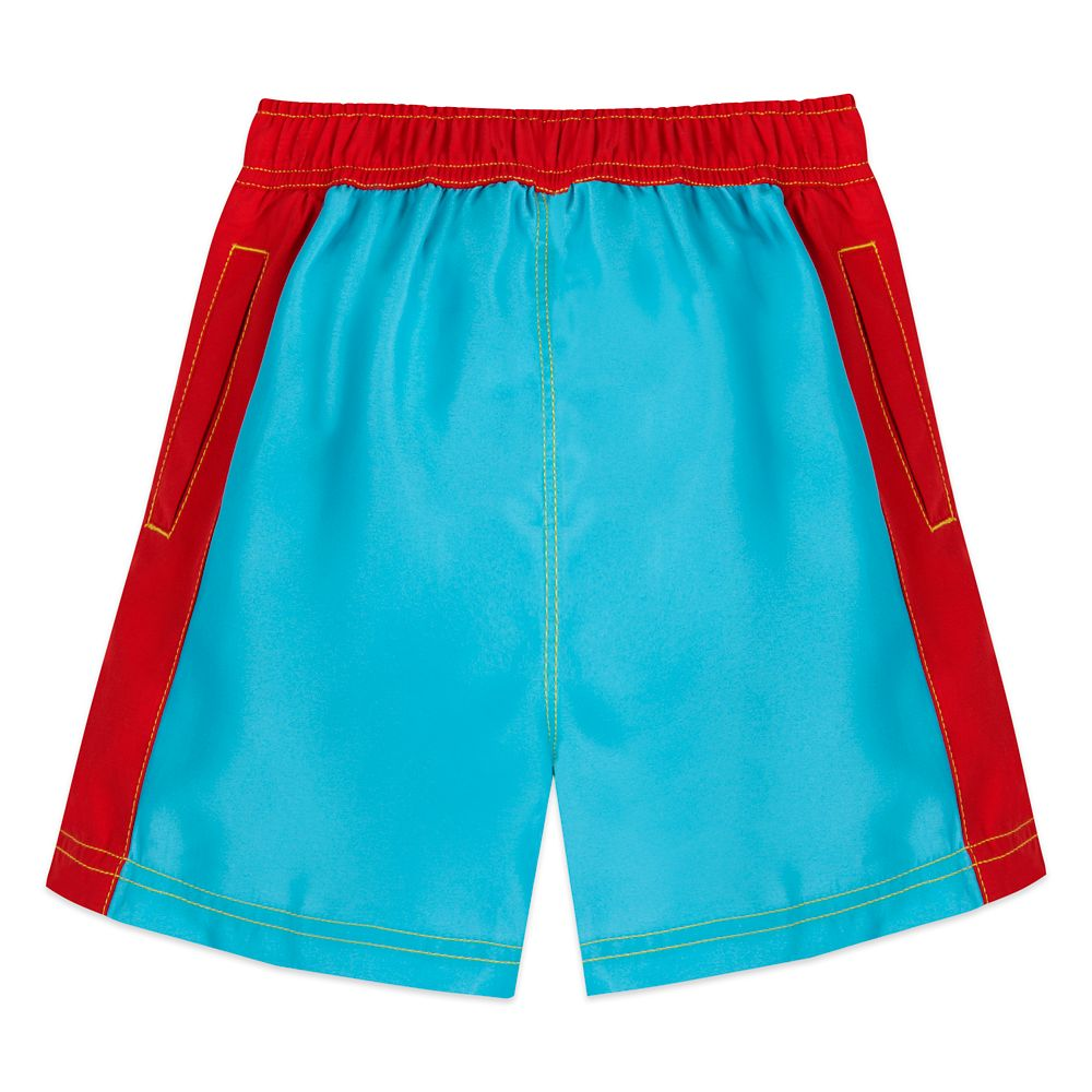 Lightning McQueen Swim Trunks for Boys