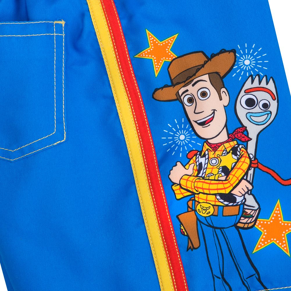 Woody and Forky Swim Trunks for Boys – Toy Story 4