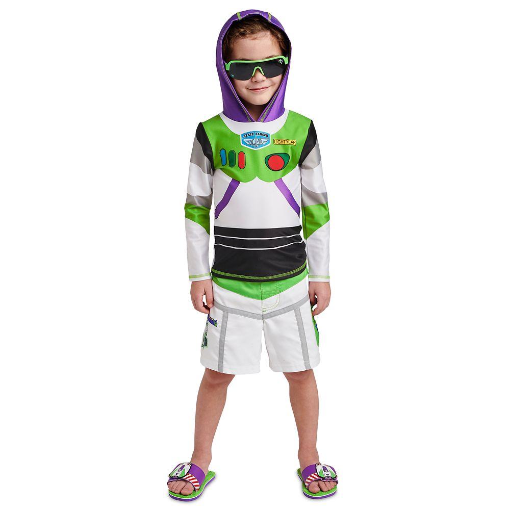 Buzz Lightyear Swim Trunks for Boys