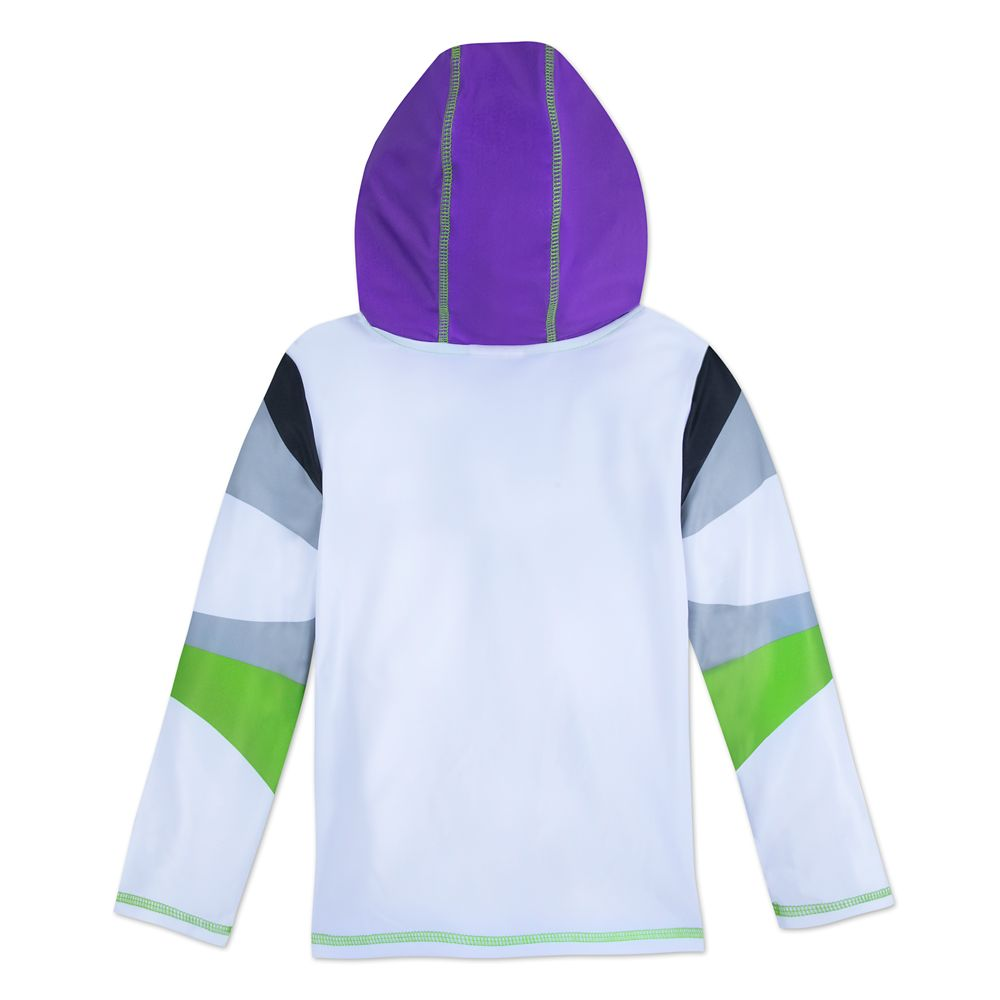 Buzz Lightyear Hooded Rash Guard for Boys