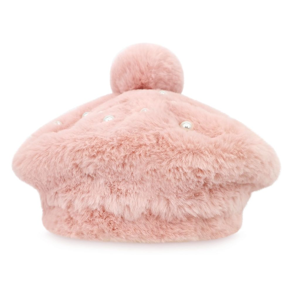 Disney Princess Faux Fur Beret for Kids