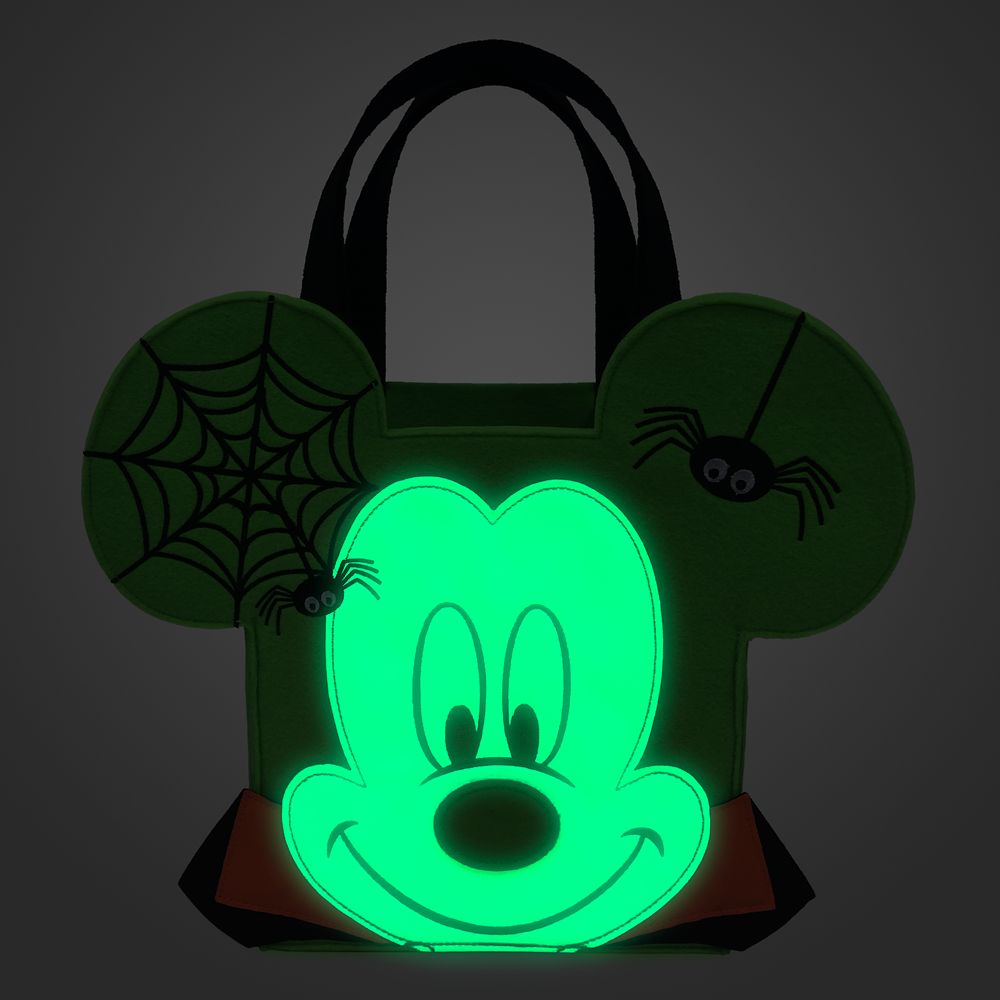 Mickey Mouse Halloween Candy Glow-in-the-Dark Bag