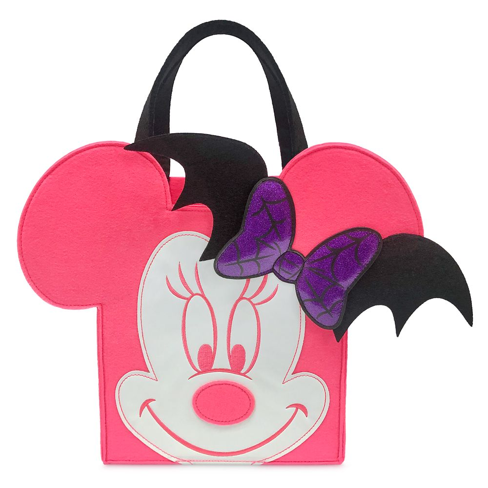Minnie Mouse Halloween Candy Glow-in-the-Dark Bag