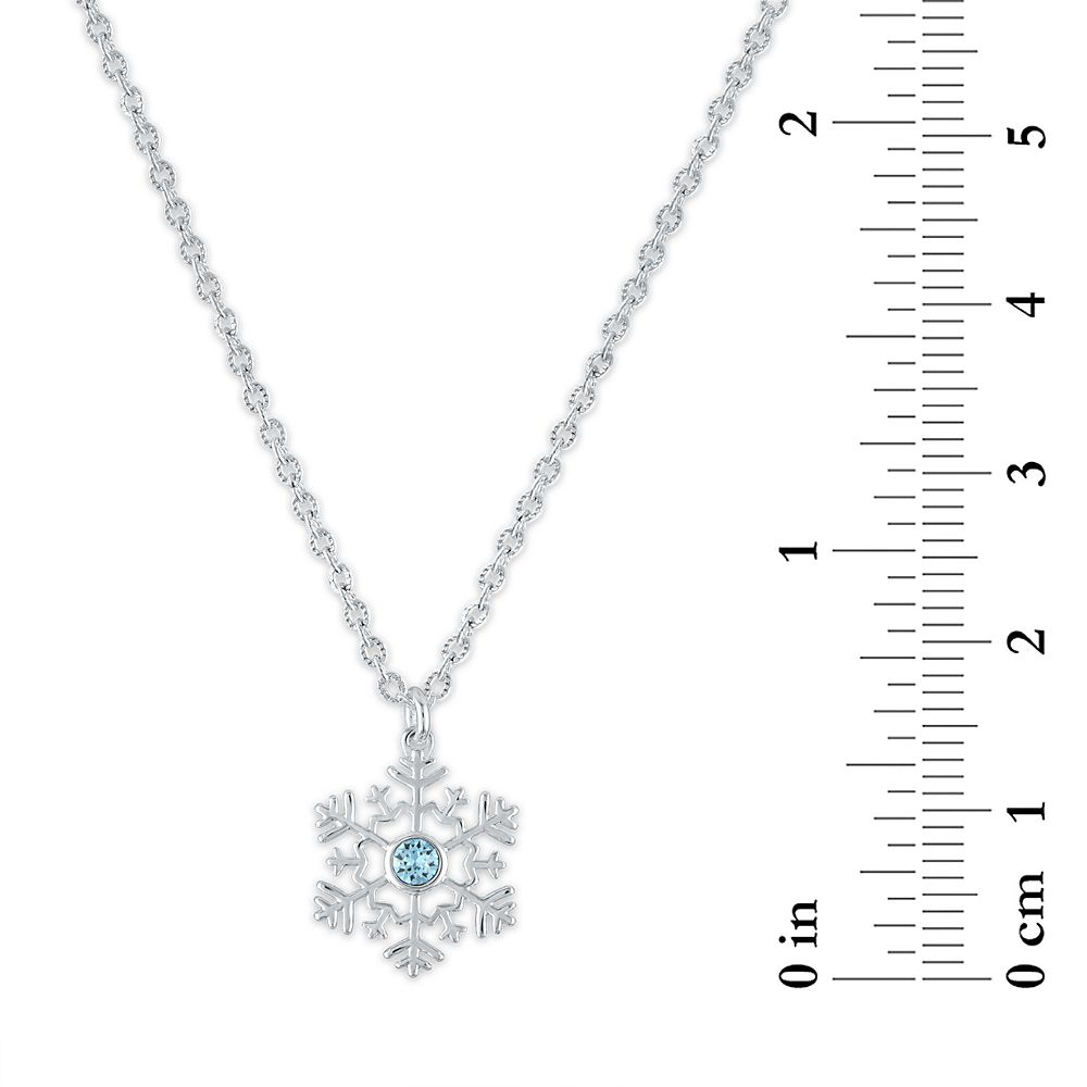 Frozen Swarovski Crystal Snowflake Necklace