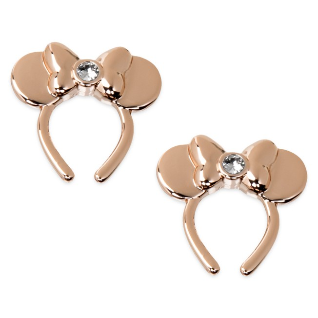 Minnie Mouse Swarovski Crystal Ear Headband Earrings
