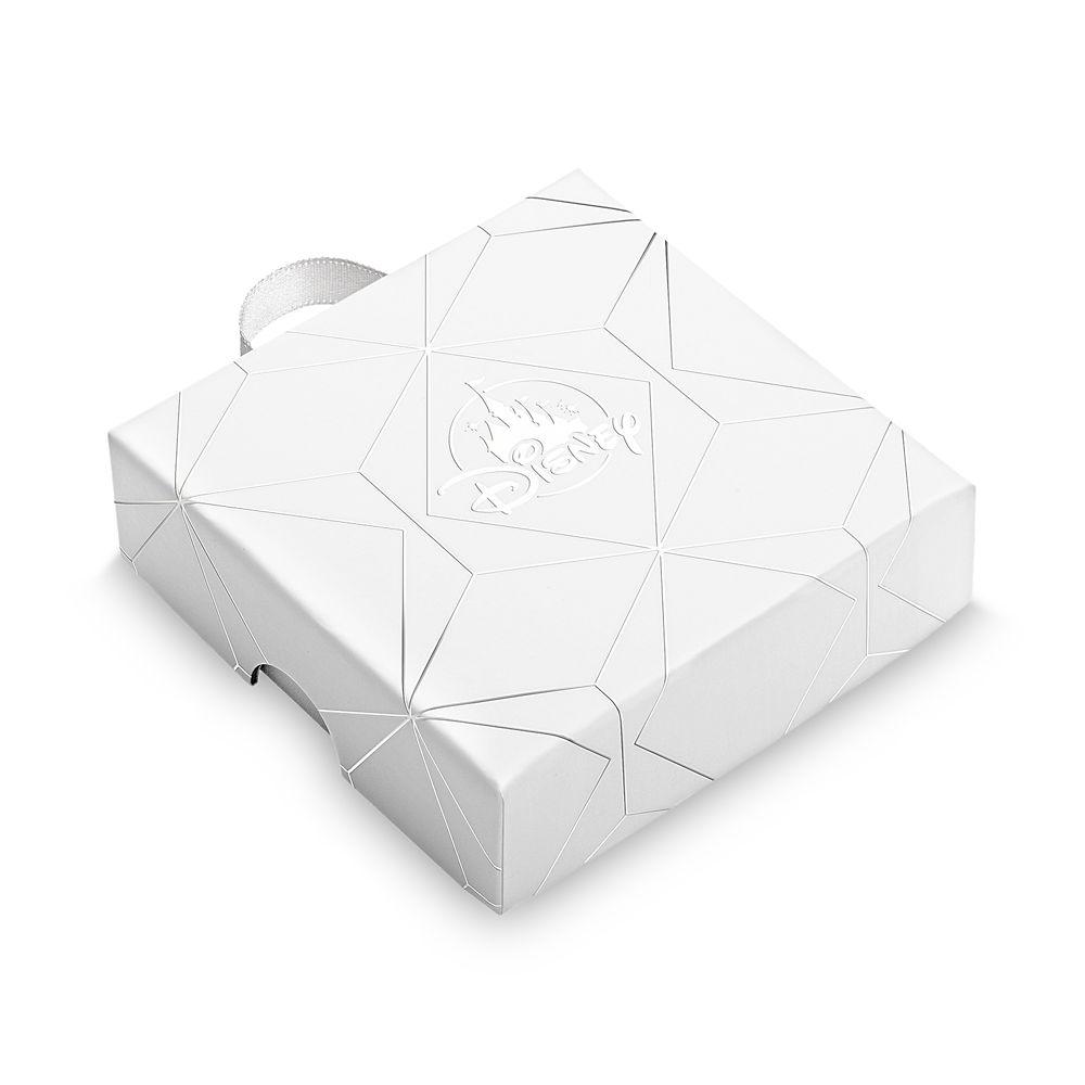 Mickey Mouse Crystal Icon Hoop Earrings