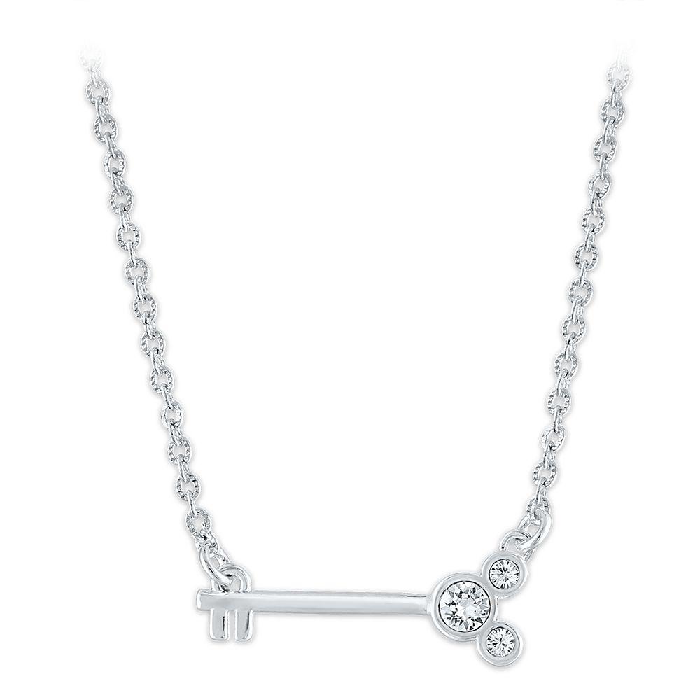 Mickey Mouse Key Pendant Necklace