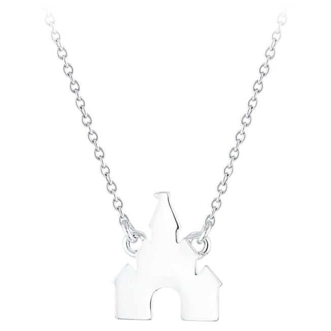 Disney Princess Castle Necklace
