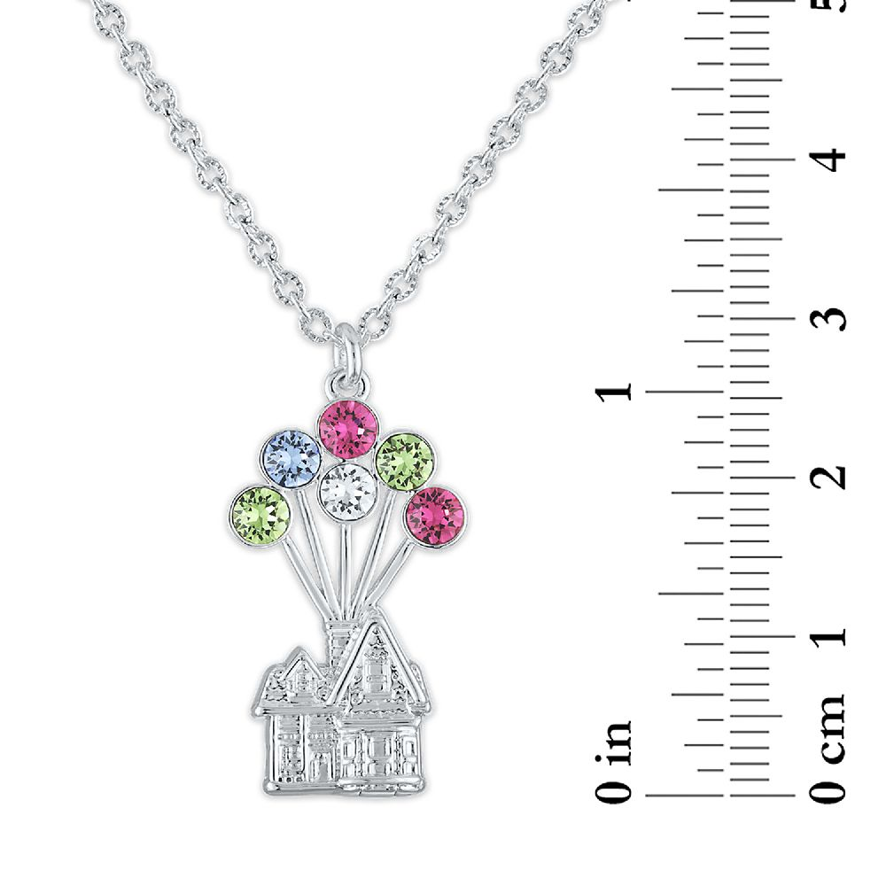 Up House Swarovski Crystal Necklace