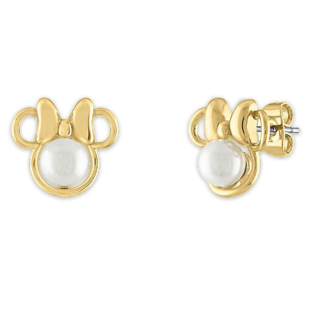 Minnie Mouse Stud Earrings