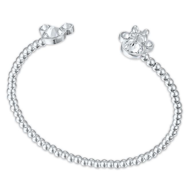 Mickey and Minnie Mouse Swarovski Crystal Bracelet