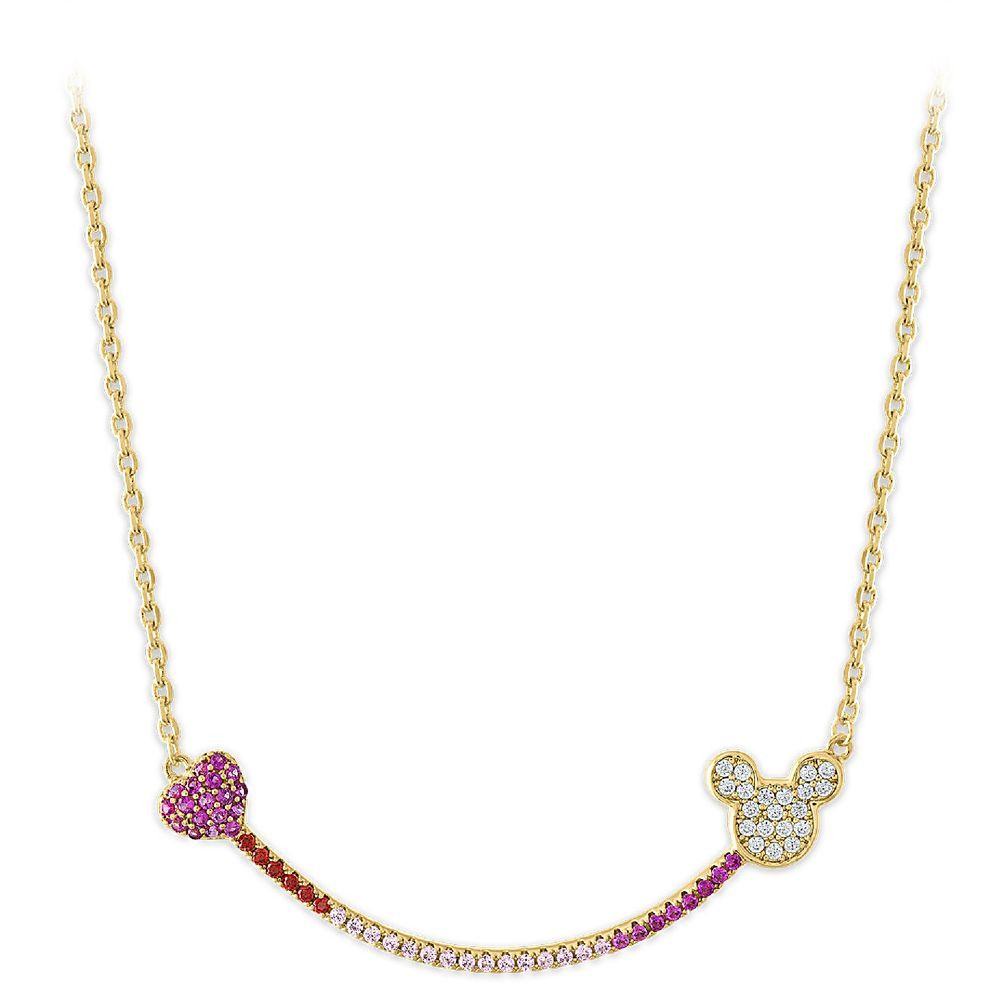 Mickey Mouse Smile Necklace