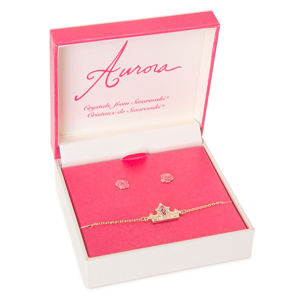 Aurora Jewelry Set for Girls – Sleeping Beauty