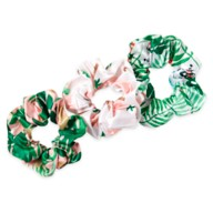 Mickey and Minnie Mouse Tropical Hair Scrunchie Set