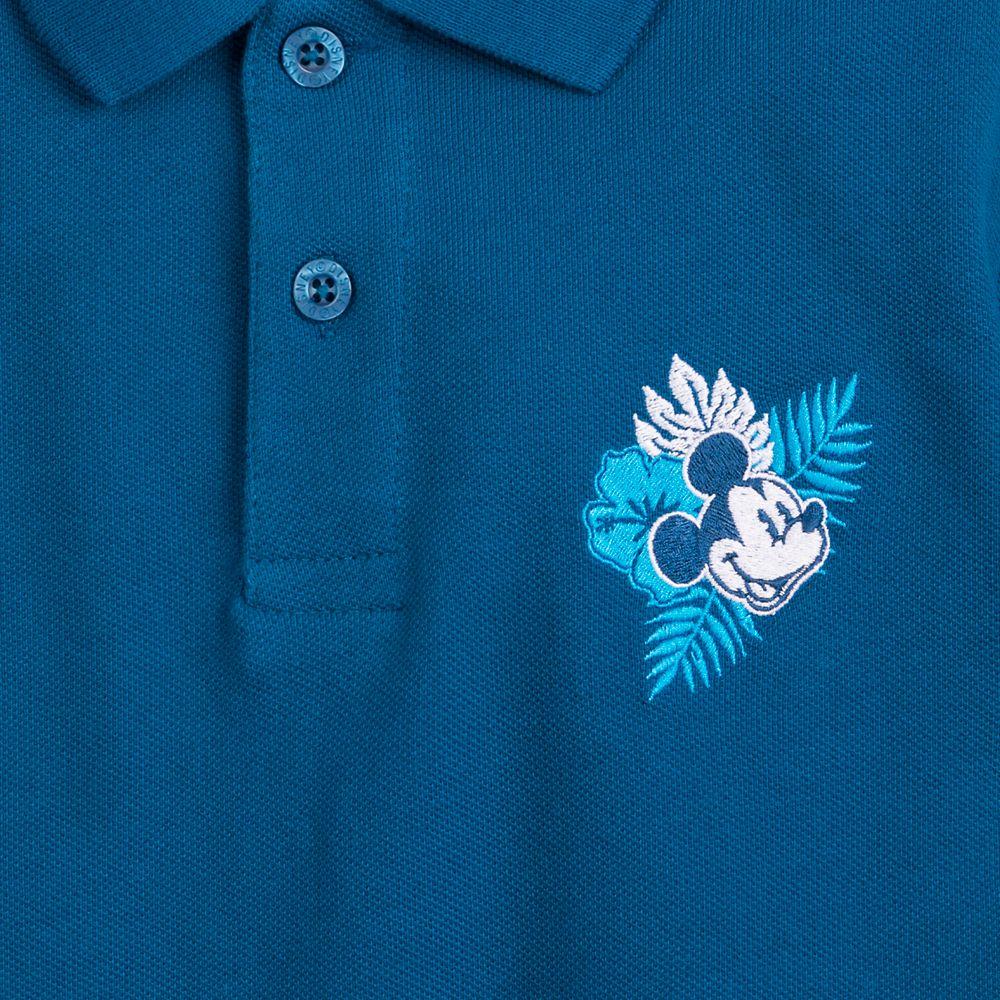 Mickey Mouse Aloha Pique Polo Shirt for Boys – Hawaii