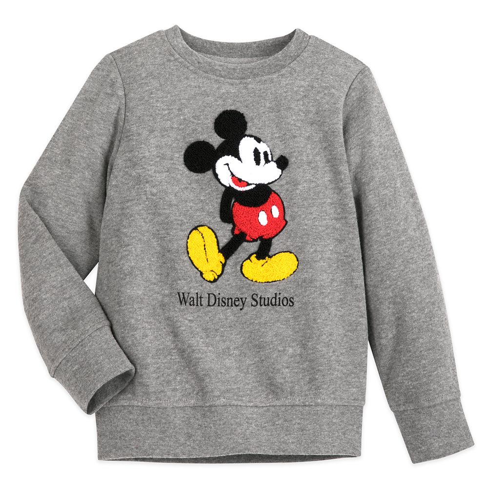 Mickey Mouse Pullover Sweatshirt for Kids – Walt Disney Studios